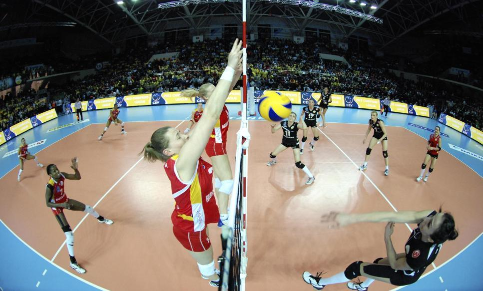 Volleyball Volleyball has three European club competitions (Men & Women) including the very successful CEV Champions League through