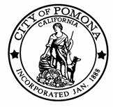 Policy No. 6 THE CITY OF POMONA SAFETY POLICIES AND PROCEDURES CONFINED SPACE POLICY City Manager I.