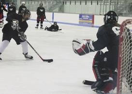 Camp Curriculum This is an all-around developmental boarding program featuring a comprehensive, well-balanced program of on-ice instruction plus dryland training.