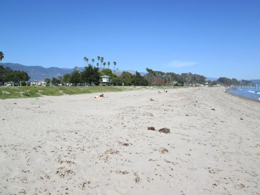 Historic Sand Accretion & Erosion 10 In 2012, Goleta Beach benefitted from