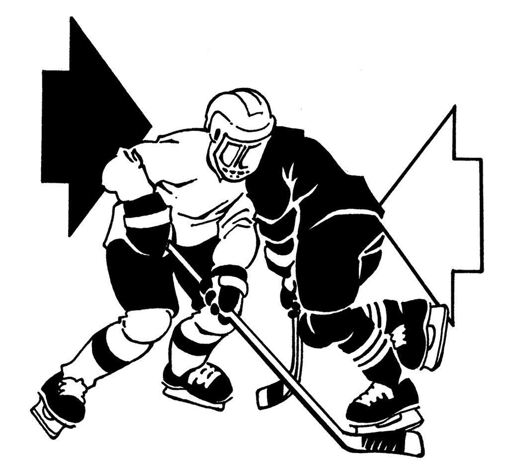 7 Shoulder Check The shoulder check is most typically used by a defenseman when taking out an on-rushing attacker.