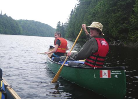 6 PADDLING SKILLS Requirements (cont d on next page) 6.9 I can recognize conditions that may precede bad weather. 6.10 I know the limits of weather conditions that are safe to paddle in. 6.11 I have completed and logged at least eight days of backcountry canoe tripping.