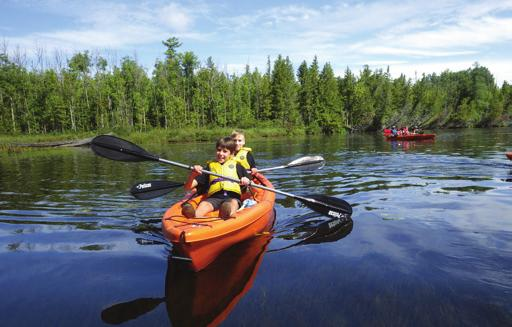 3 PADDLING SKILLS Competencies 3.1 I can swim 100 metres with my PFD on using any stroke. 3.2 I know how to choose a paddle that is the correct size. 3.3 With help from my team or my Scouter, I can paddle my canoe or kayak forward a short way.