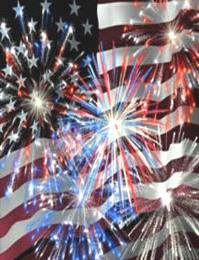 FUN TIMES 4 th of July Celebration: The OCAC kicks off the festivities at 2:00 pm with Singing, Flag Ceremony, Pool Races, Kiddie Patriotic Swimwear Contest, Adult Cannonball Contest, and The Greased