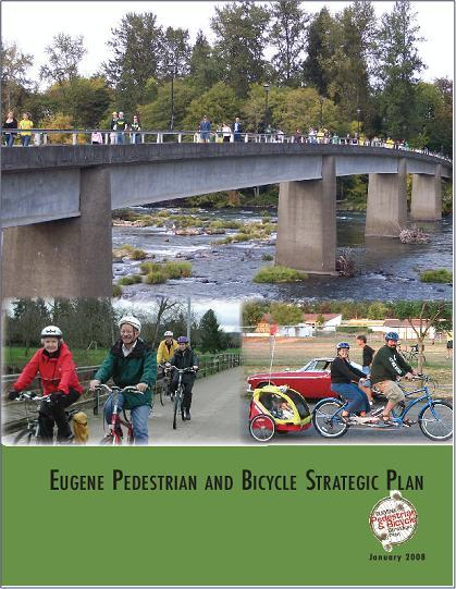 Vision Eugene is a place where walking and biking are integral to the community s culture, where the city s livability, sustainability and overall