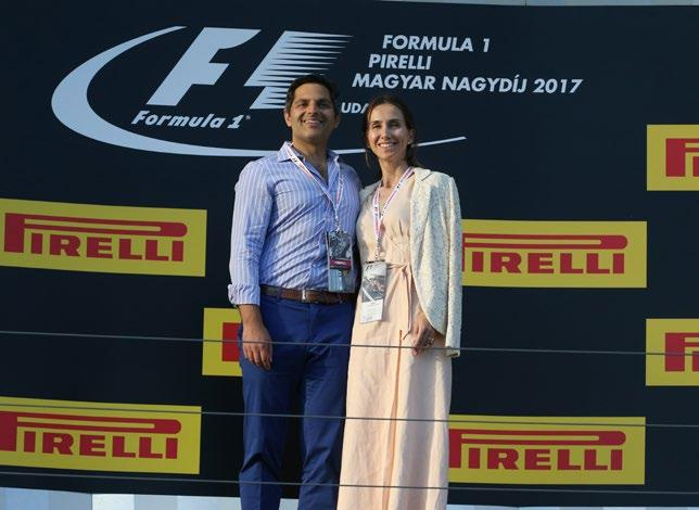 PRIVATE PODIUM VISIT Included in Legend Packages
