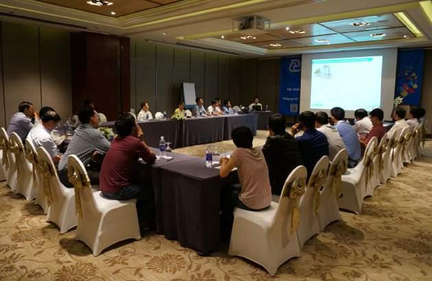 increase the competition of the Group. In Vietnam, Mapei annually organizes local and oversea trainings for its staff to approach new and modern technologies meeting all the needs of the market.