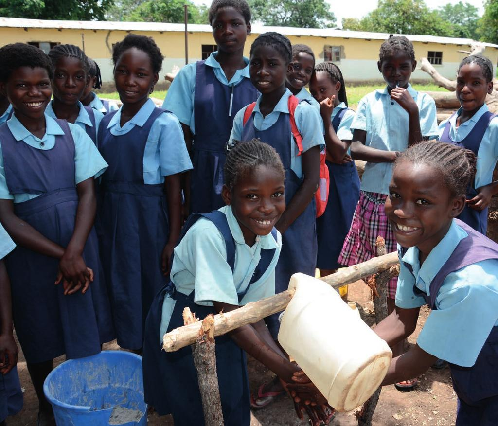 Water and sanitation facilities in basic schools are generally poor. For all children, unsafe water at school can lead to outbreaks of diseases such as diarrhoea, cholera, and dysentery.