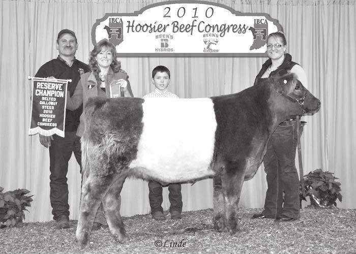 Cayde Selke had the Champion Heifer and Cordon Selke, the Reserve Champion Heifer.