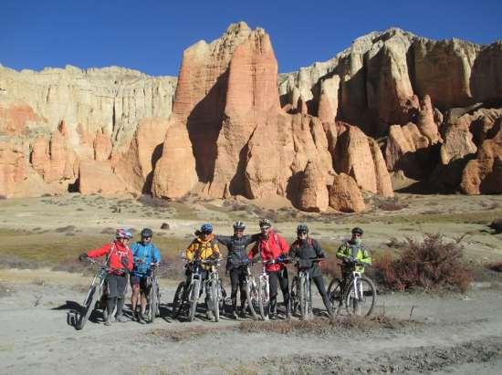 Nepal - Pokhara - Jomsom - Muktinath Mountain Biking Tour (2017) Guided 11 days / 10 nights Pokhara is situated at about 827 meters from sea level, and is located about 200 km west of Kathmandu and