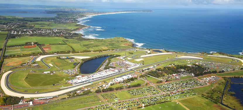 PHILLIP ISLAND GRAND PRIX CIRCUIT N Gap Road Siberia Lukey/Siberia Parking P To Melbourne champions club Southern Loop Back Beach Road Lukey Heights high octane club pit roof vip village GP Paddock