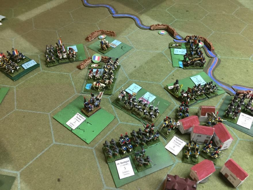 with casualties mounting, the French army s morale finally broke and the battle ended.