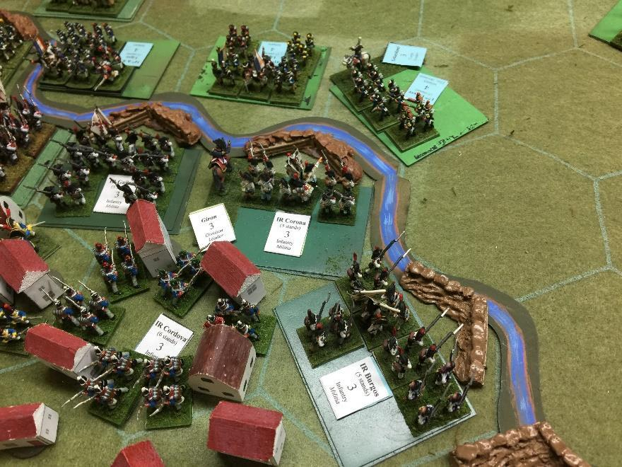 For the next couple of hours infantry brigades fought inconclusively across the gully.