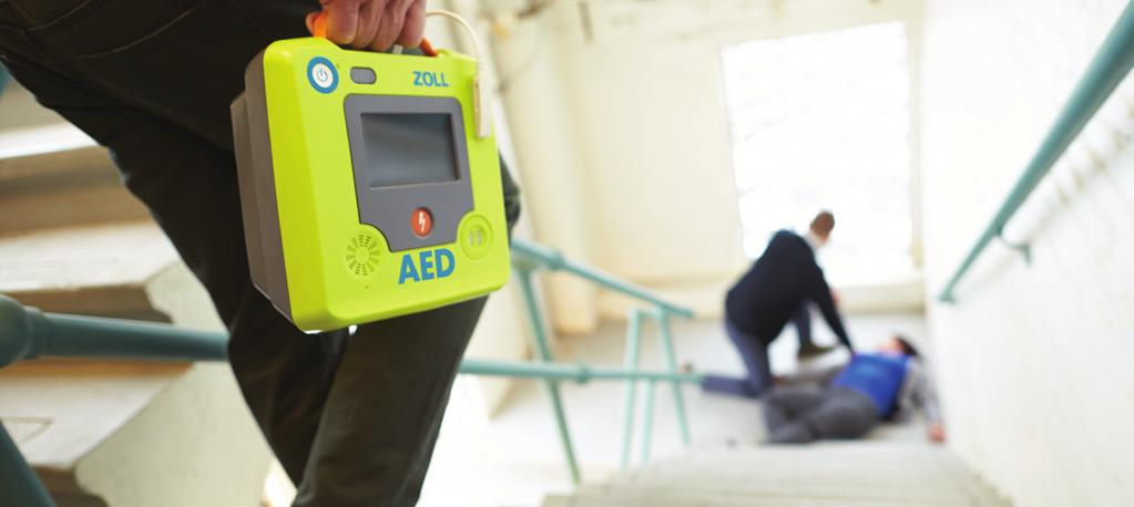 Even Better Support During a Rescue The ZOLL AED 3 takes the best support for rescuers during a rescue to the next level with: Real CPR Help that can see your chest compressions during CPR to let you
