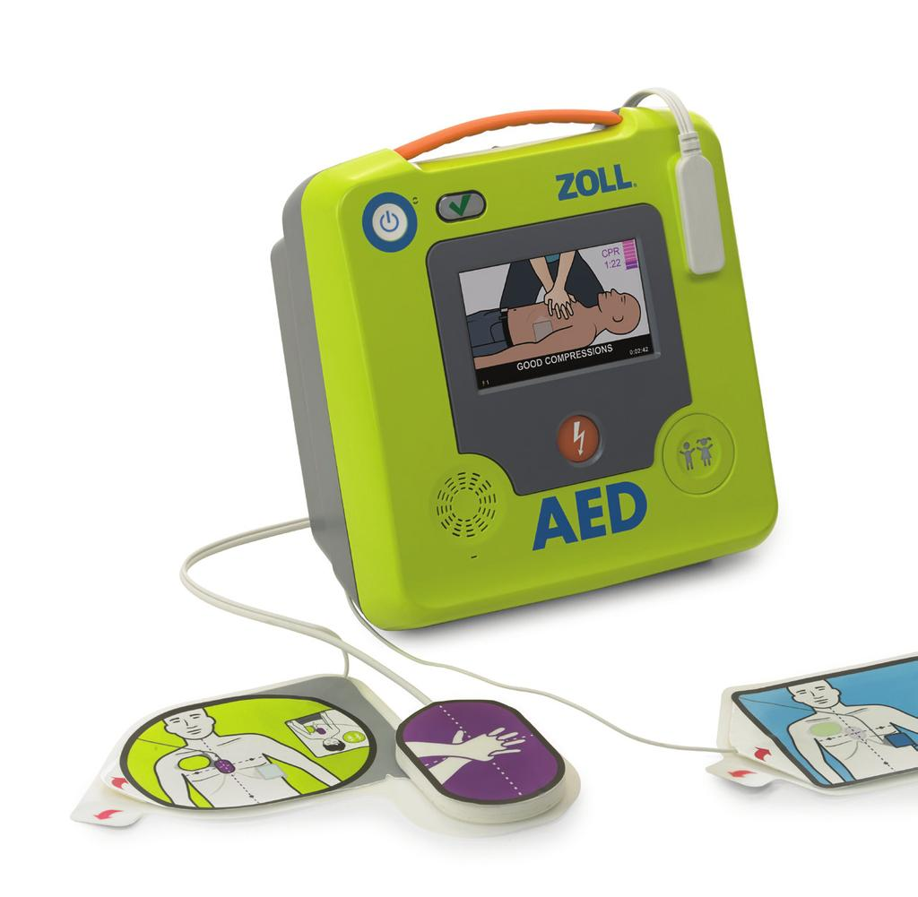 Beyond the AED Plus In 2002, ZOLL launched the AED Plus defibrillator with Real CPR Help