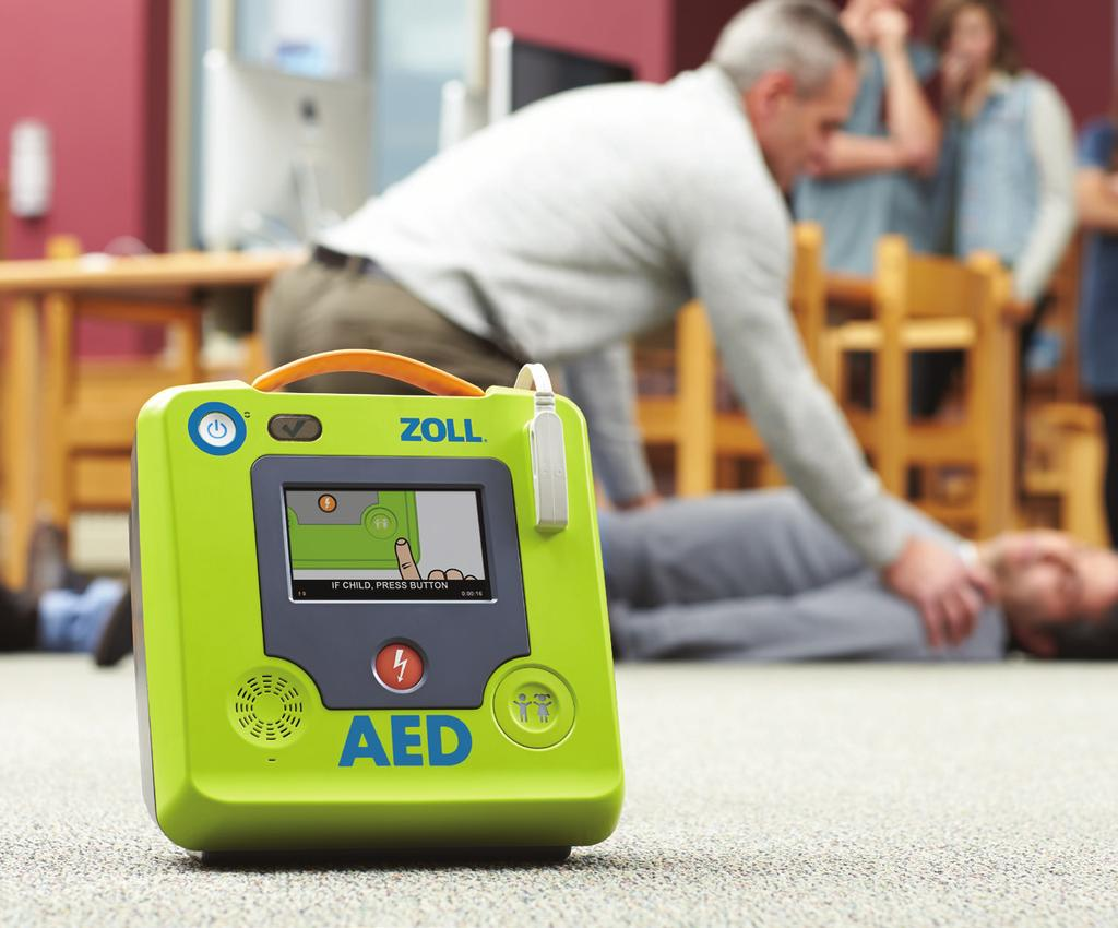 Leading Technology. Reasonable Cost. Once installed, the ZOLL AED 3 defibrillator costs significantly less than almost any other AED to maintain.