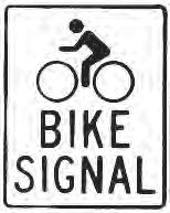 Bicycle detection is used at