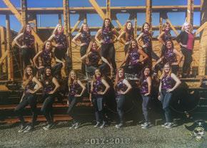 2018 OSAA Dance & Drill State Championships MARSHFIELD UPBEATS Marshfield High School Assistant Coach Team Managers Choreographer Coos Bay 4A Purple, Gold Bryan Trendell Travis Howard Greg Mulkey