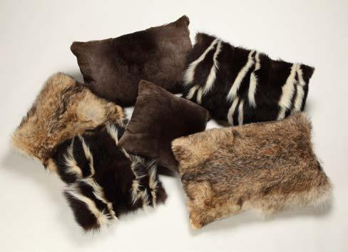 Fur Accessories See page 39 for