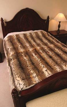 More Fur Bedspreads Our prices are for manufacturing only.