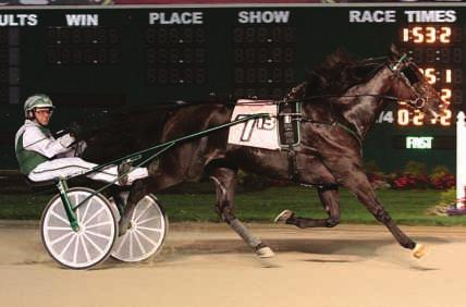 Few Indiana trotting stallions can match Herbie s production on the track and in the sale ring. Linscott Photos 1,226) E, 4, 1:51.