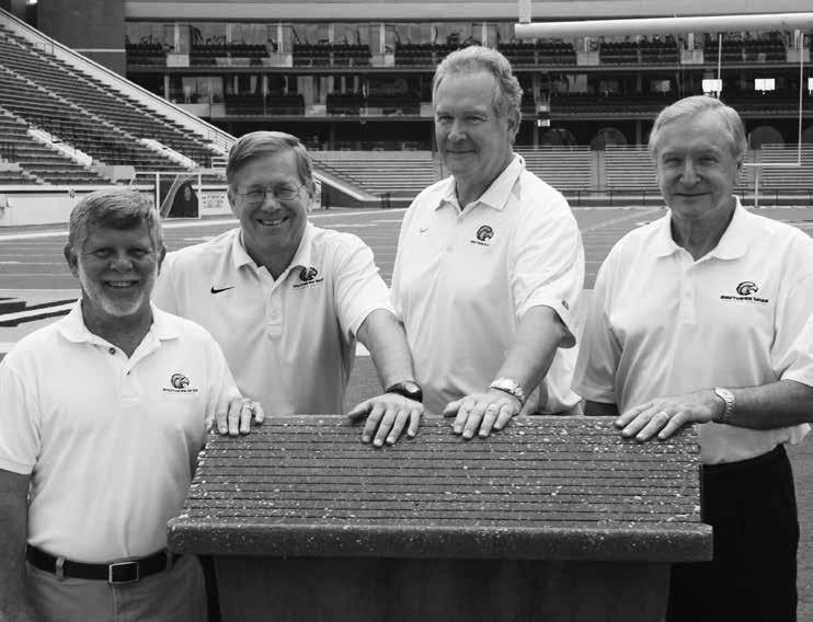 Southern Miss IMG Sports Network The Southern Miss IMG College Network broadcast team Bo Morgan, John Cox, Joe Bryant and Vic Purvis eteran sportscaster John Cox, Director of VSports Broadcasting, is