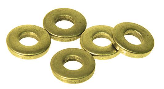 Shim Washers Wide Rim Shim Washers Stainless Steel Sometimes called Machinery Bushings. Originally used as a wear shim between 2 moving parts.
