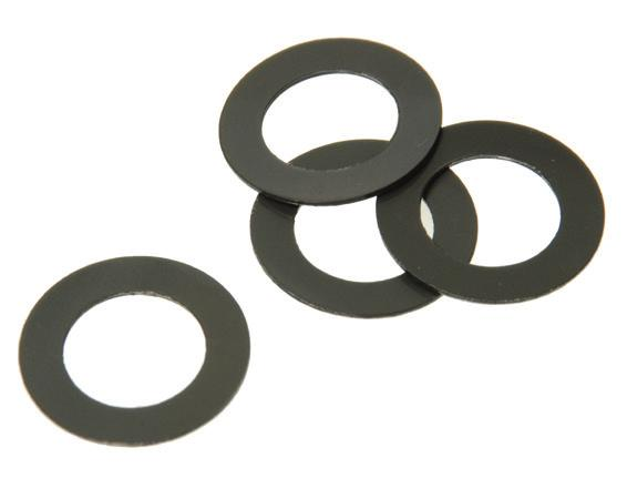 031 Z8390 5/16.322.562.031 Z8392 3/8.383.506.031 Z8394 1/2.530.880.031 Z8396 Phenolic Flat Washers Phenolic is a tough and lightweight material that resists distortion caused by pressure.