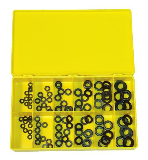 Qty: 20 Pcs Qty: 20 Pcs Qty: 20 Pcs Component Flat Washer Assortment Kit Steel Small Sizes Order # Z9108 Z9085 Z9086 Z9087 Z9094 Z9095 Z9096 #4 STEEL #6 STEEL #8 STEEL #10 STEEL 1/4 STEEL 5/16 STEEL