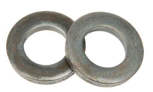 Jumbo Flat Washers Jumbo Flat Washers with bolt sizes up to 4 shipped from our stock! Our Jumbo line is manufactured of either 4100 series Alloy Steel or 300 Series Stainless Steel.