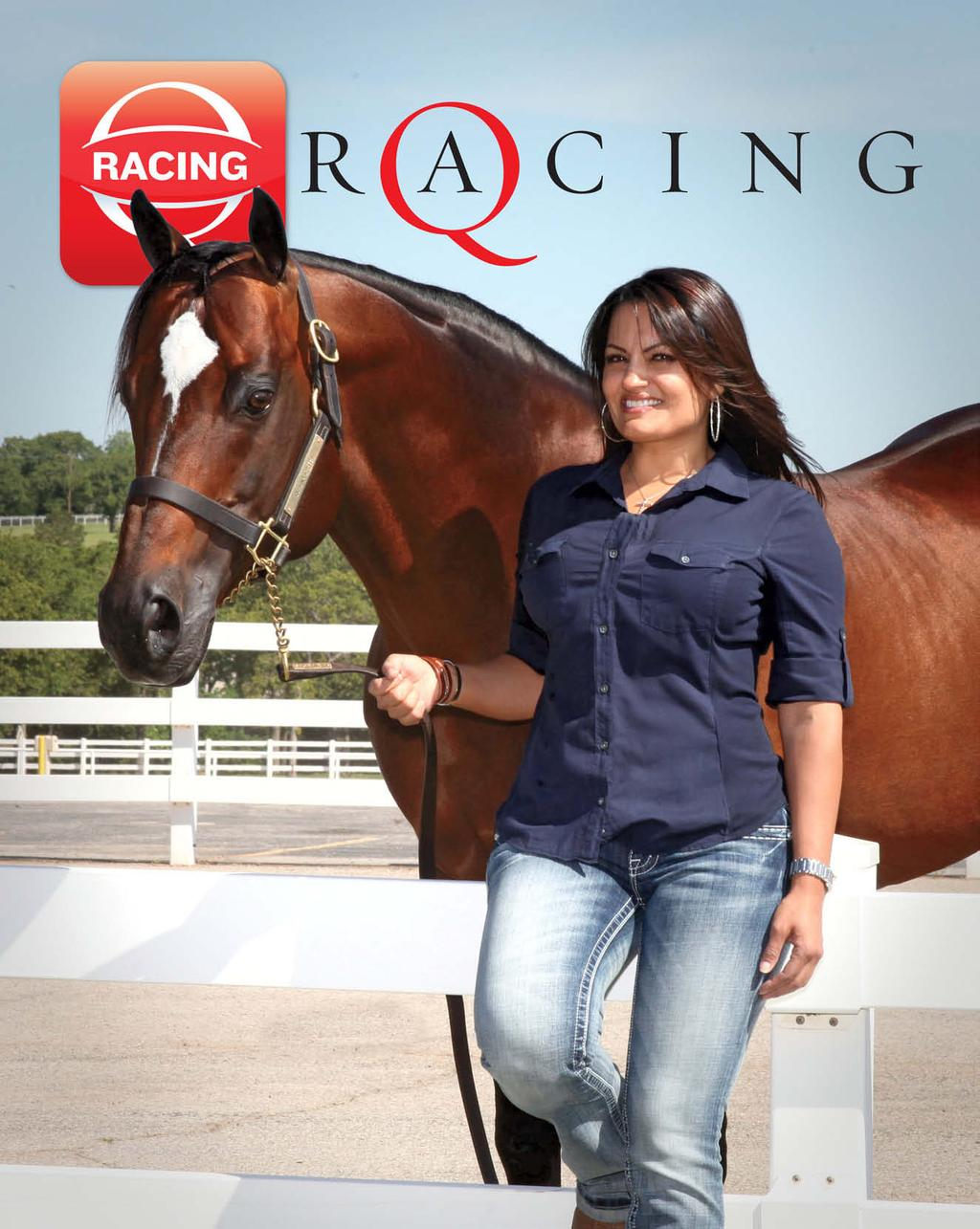 JULY 2012 Q-RACING JOURNAL CELINA MOLINA CORONA CARTEL S LEADING LADY GILLESPIE
