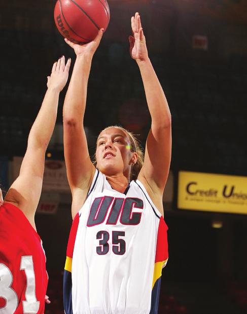 2008-09 PREVIEW NOTEBOOK JUST TWO WINS AWAY: Head Coach Lisa Ryckbosch is just two wins away from becoming UIC s winningest coach in school history. Ryckbosch has recorded an 88-89 (.