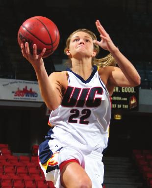 RETURNING FIREPOWER: UIC returns four starters and nine letterwinners back on the court in 2008-09.