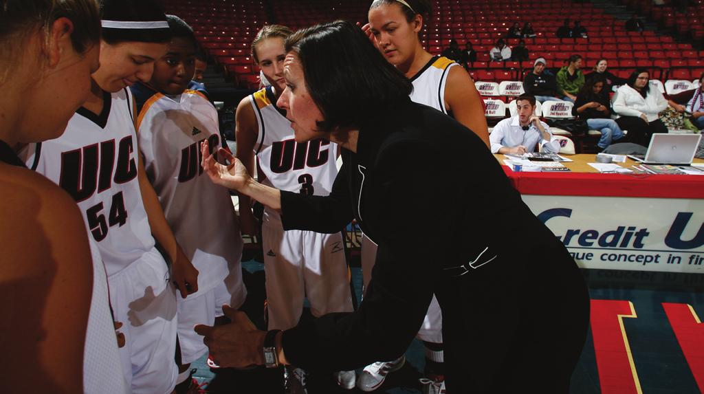 Ryckbosch has also steered the Flames to their firstever Horizon League Tournament title game (2005), first-ever vote in the Associated Press Top 25 poll (Nov.