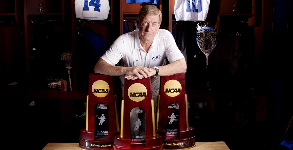 JOHN DANOWSKI 2007-P 399-193 (35 seasons) 180-54 at Duke (11 seasons) Cemented as one of the top coaches in college lacrosse, John Danowski has led the Duke men s lacrosse team to unprecedented