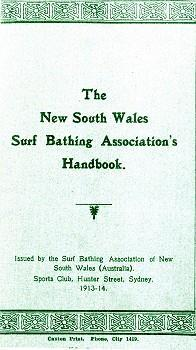 Handbook of Instruction To their credit and no doubt the need to be independent and to move further away from the Society, the Surf Life Saving