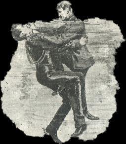 method of resuscitation, which was adopted by the Society in 1907. Four methods of rescue was only required however, for the examination.