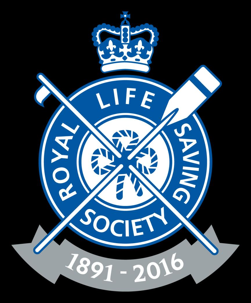 The Royal Life Saving Society Commonwealth s Promotional Logo for the 125 th Anniversary The Commonwealth President, H.