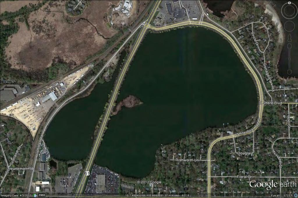 Introduction Goose Lake (ID: 62-0034) is a 145-acre shallow lake, located in Ramsey County, Minnesota.