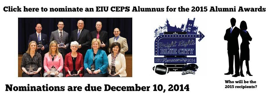 Are you or someone you know an Alumni of the College of Education and Professional Studies?