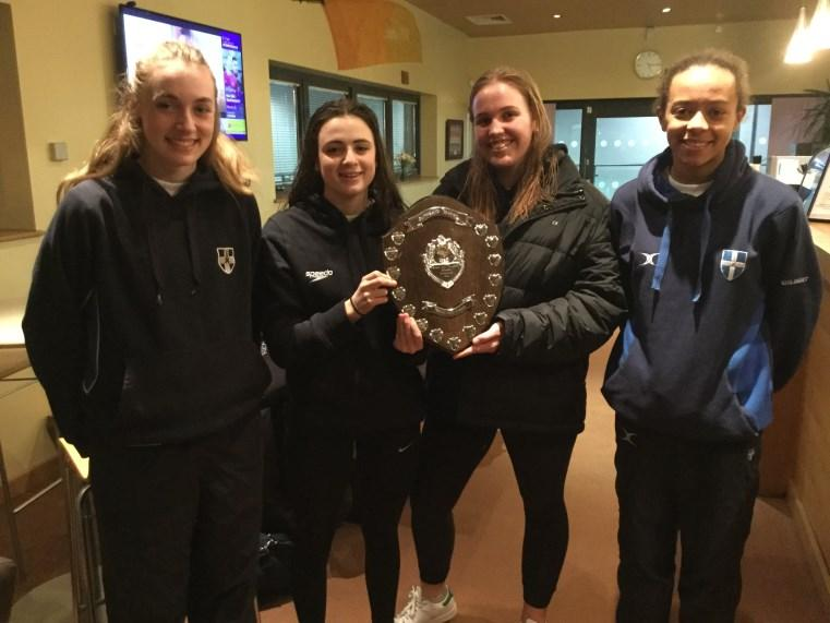 Swimming Scholars Emma Bradshaw, Phoebe Brockington, Stephanie Andrews and Louisa Long all won 3 individual races.