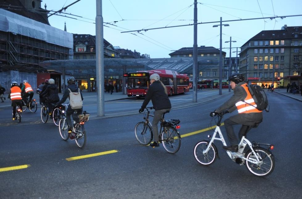 For such visions also to become reality in Bern, there need to be coordinated efforts. Experience shows that changes in the transport infrastructure require patience.