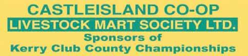 KERRY COUNTY COMMITTEE COMPETITION SPONSORS Chapter 23 IrIsh League of CredIt unions Sponsors