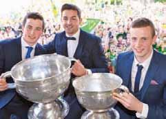 But Paul Galvin, Tomás Ó Sé and Paul Murphy bring one common denominator to the table - that insatiable desire to give themselves the best chance to be as good as they can be.