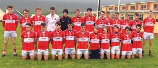 crócaigh minor football finalists 2014