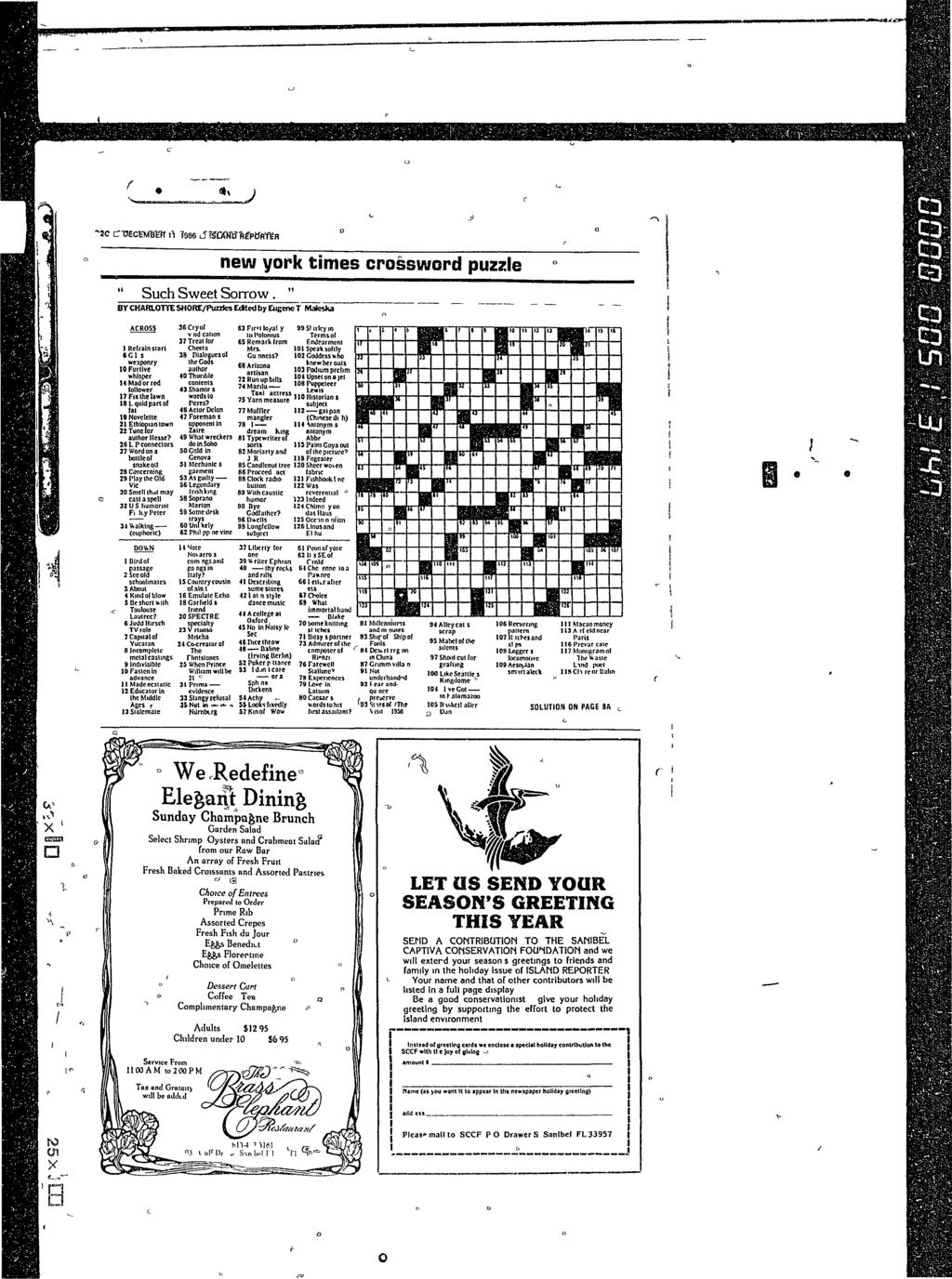 J new york times crossword puzzle Such Sweet Sorrow.