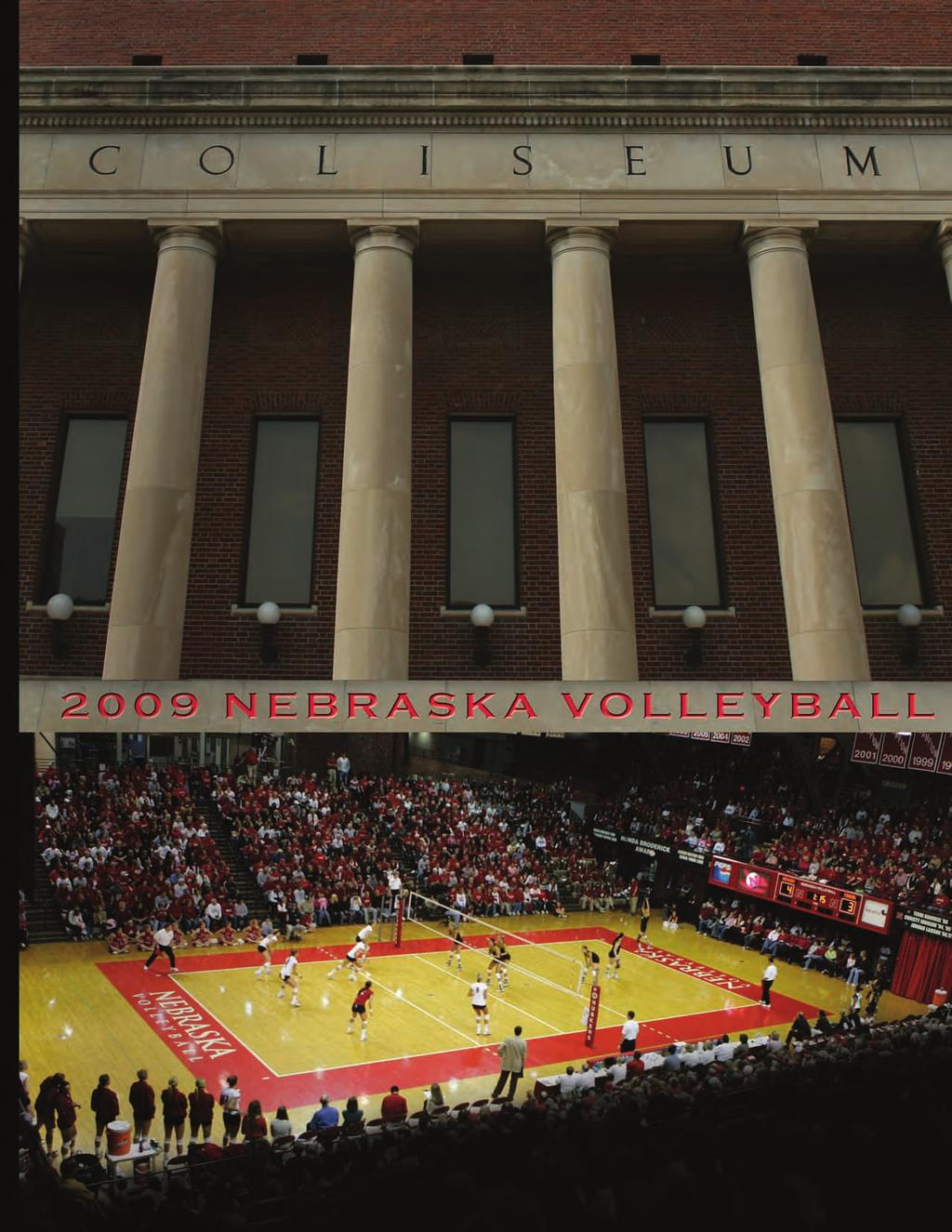 2009 Nebraska Volleyball 1,060 All-Time Wins