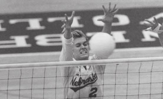 HUSKER YEARLY LEADERS Husker Team Leaders Kills Year Player Kills 1983 Cathy Noth 385 1984 Cathy Noth 420 1985 Enid Schonewise 363 1986 Enid Schonewise 493 1987 Kathi DeBoer 529 1988 Linda Barsness