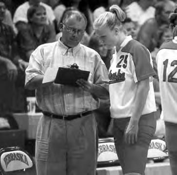 In what was supposed to be a transition year, Cook led the Huskers to a perfect 34-0 record and the 2000 NCAA title.