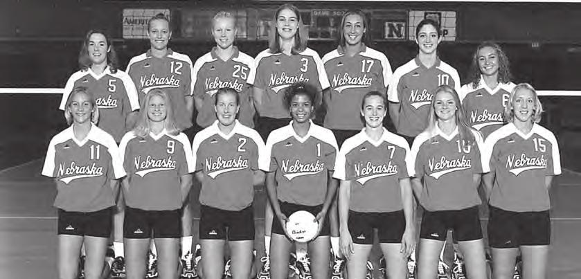 HISTORY 2000 NATIONAL CHAMPIONS 34-0 Record (20-0 Big 12) Honors and Awards AVCA National Player of the Year Greichaly Cepero AVCA Division I Coach of the Year John Cook Honda Award for Volleyball